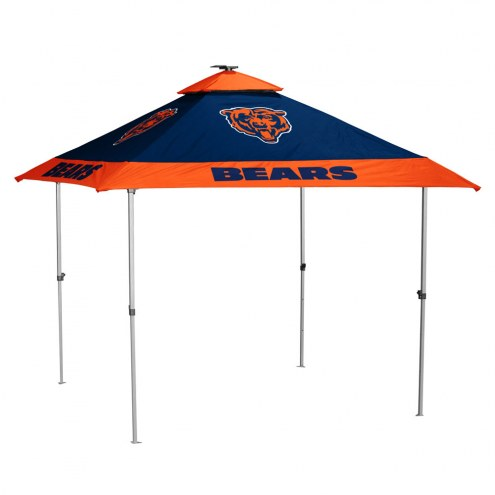 Chicago Bears Pagoda Tent with Lights