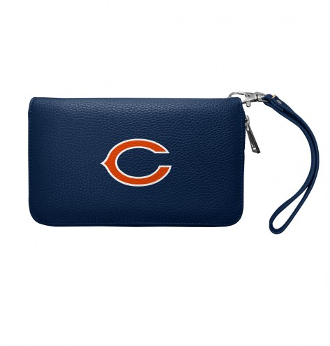 Chicago Bears Pebble Organizer Wallet