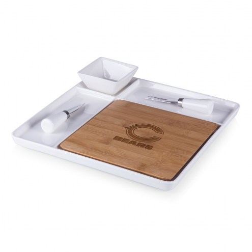 Chicago Bears Peninsula Cutting Board Serving Tray