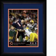 Chicago Bears Personalized 13 x 16 NFL Action QB Framed Print