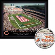 Chicago Bears 11 x 14 Personalized Framed Stadium Print