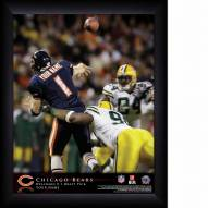 Chicago Bears Personalized 11 x 14 NFL Action QB Framed Print