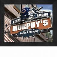 Chicago Bears 11 x 14 Personalized Framed Sports Pub Print