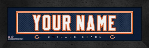 Chicago Bears Personalized Stitched Jersey Print