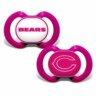 Chicago Bears Baby Pacifier 2-Pack