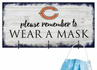 Chicago Bears Please Wear Your Mask Sign