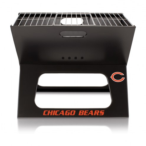 Chicago Bears Portable Charcoal X-Grill