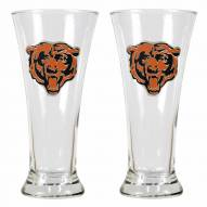 Chicago Bears Premiere Pilsner Glass Set