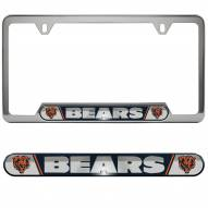 Chicago Bears License Plate Frame