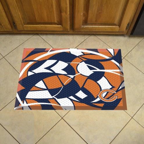 Chicago Bears Quicksnap Scraper Door Mat