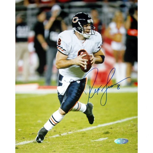 """Chicago Bears Rex Grossman Rollout Signed 16"""" x 20"""" Photo"""