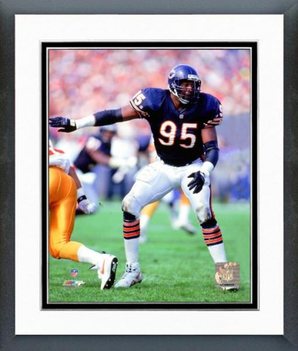 Chicago Bears Richard Dent 1990 Action Framed Photo
