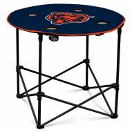 Chicago Bears Round Folding Table