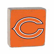 Chicago Bears Rustic Block