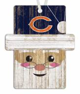 Chicago Bears Santa Ornament