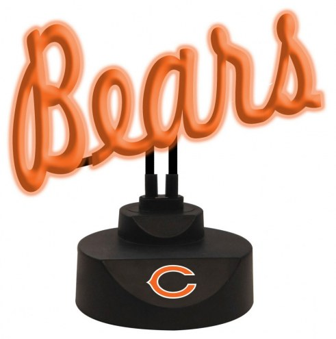 Chicago Bears Script Neon Desk Lamp