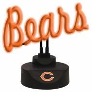 Chicago Bears Script Neon Desk Lamp