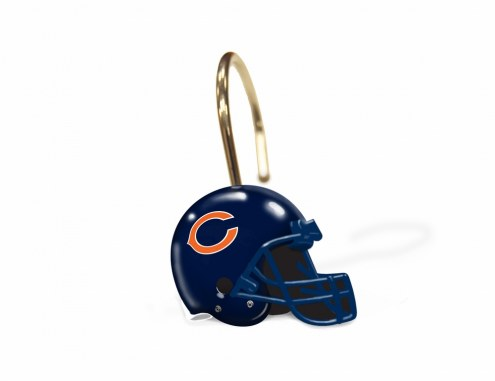 Chicago Bears Shower Curtain Rings