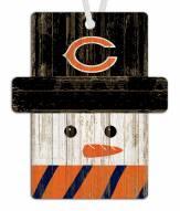 Chicago Bears Snowman Ornament