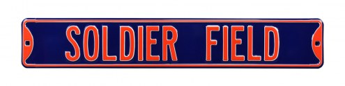 Chicago Bears Soldier Field Street Sign