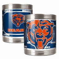 Chicago Bears Stainless Steel Hi-Def Coozie Set