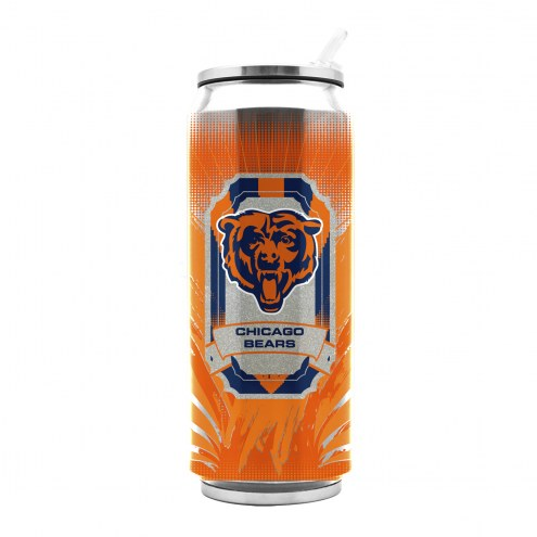 Chicago Bears Stainless Steel Thermo Can