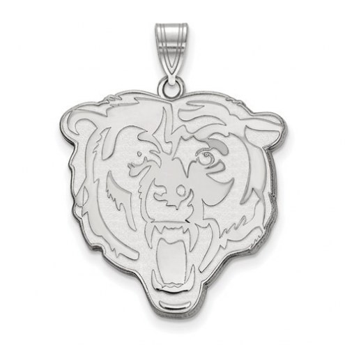Chicago Bears Sterling Silver Extra Large Pendant