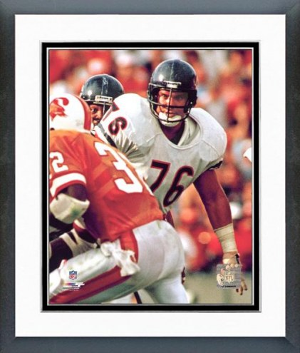 Chicago Bears Steve McMichael Action Framed Photo