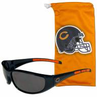 Chicago Bears Sunglasses and Bag Set