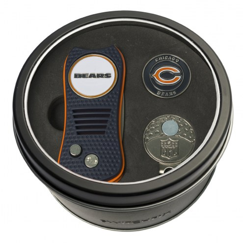 Chicago Bears Switchfix Golf Divot Tool, Hat Clip, & Ball Marker
