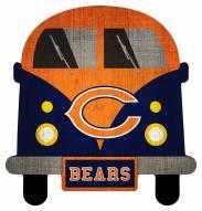 Chicago Bears Team Bus Sign