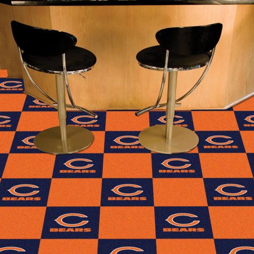 Chicago Bears Team Carpet Tiles