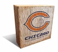 Chicago Bears Team Logo Block