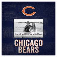"""Chicago Bears Team Name 10"""" x 10"""" Picture Frame"""
