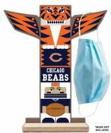 Chicago Bears Totem Mask Holder