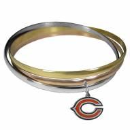 Chicago Bears Tri-color Bangle Bracelet