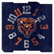 Chicago Bears Vintage Square Clock
