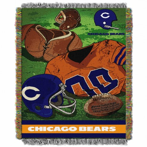 Chicago Bears Vintage Throw Blanket
