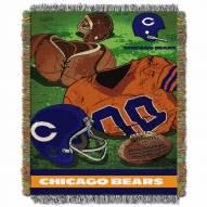 Chicago Bears Vintage Throw Blanket