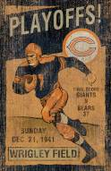 Chicago Bears Vintage Wall Art
