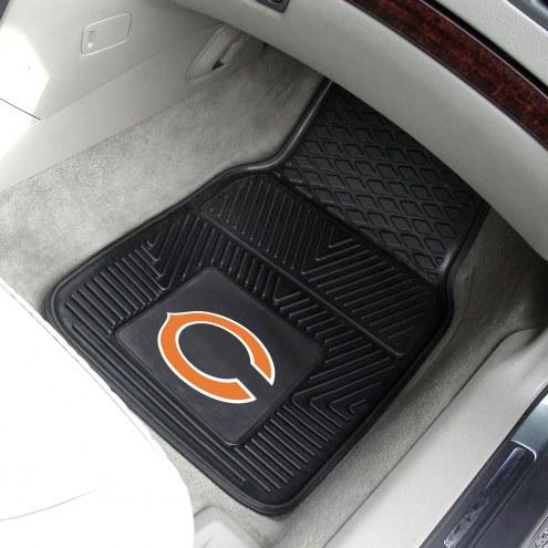 Chicago Bears Vinyl 2-Piece Car Floor Mats