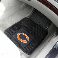 Chicago Bears Vinyl 2-Piece Car Floor Mats