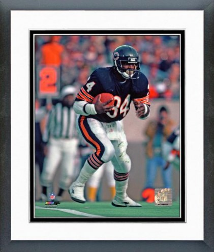 Chicago Bears Walter Payton Action Framed Photo