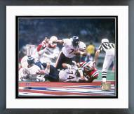 Chicago Bears William Perry 1986 Super Bowl Touchdown Framed Photo
