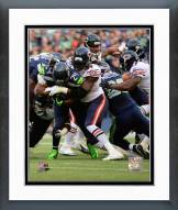 Chicago Bears Willie Young Action Framed Photo