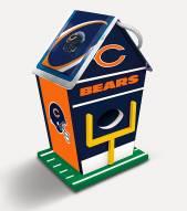 Chicago Bears Wood Birdhouse