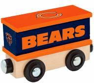 Chicago Bears Wood Box Car Train