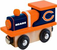 Chicago Bears Wood Toy Train