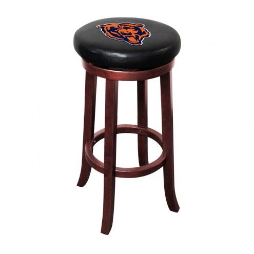 Chicago Bears Wooden Bar Stool
