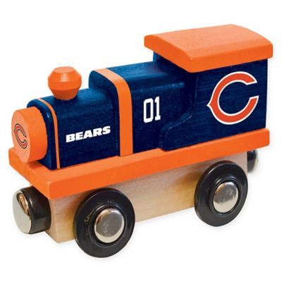 Chicago Bears Wooden Toy Train